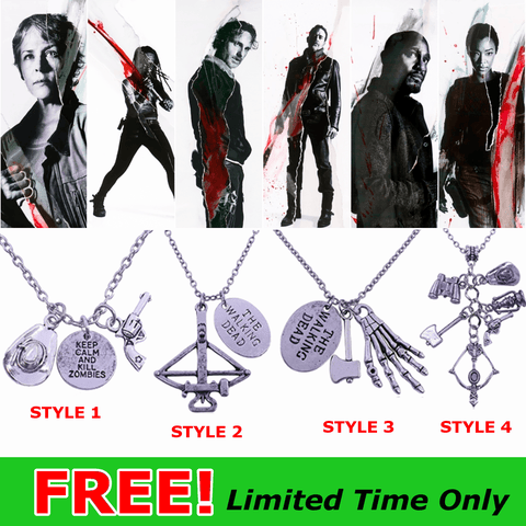 FREE Walking Dead Necklace