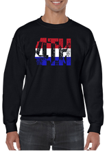 4th Of July Independence Day Crew Neck Sweatshirt - Vovo Inc