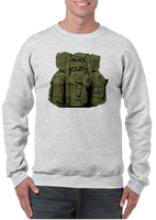 Humping Alice Rucksack Crew Neck Sweatshirt - Vovo Inc