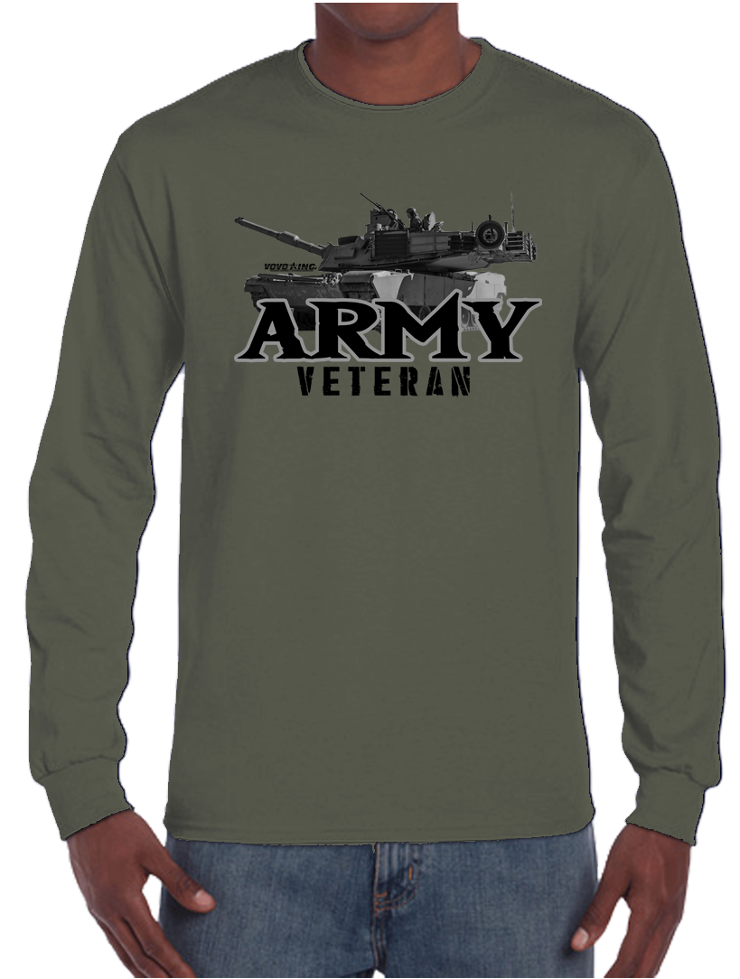 U.S. Army Proud Veteran Long Sleeve T-Shirt