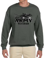U.S. Army Proud Veteran Crew Neck Sweatshirt - Vovo Inc