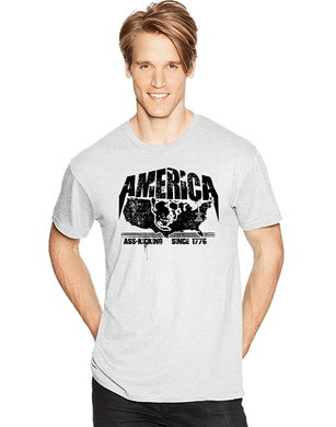America A$$ Kicking Since 1776 Short Sleeve T-Shirt - Vovo Inc