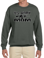 U.S. Army Mom Crew Neck Sweatshirt - Vovo Inc