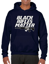Black Rifles Matter Military Power Pullover Hoodie Hooded Sweatshirt - Vovo Inc