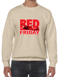 Red Friday Deployment Crew Neck Sweatshirt - Vovo Inc