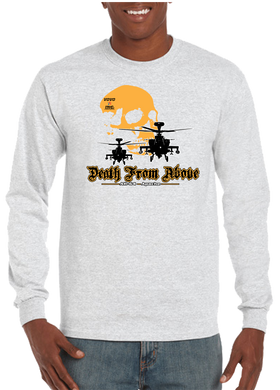 Death From Above Military Air Assault Long Sleeve T-Shirt - Vovo Inc
