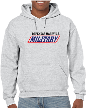 Marry a Dependa Pullover Hoodie Hooded Sweatshirt - Vovo Inc