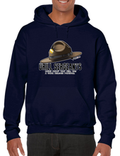 Drill Sergeants Living Proof Hell Has A Work Release Program Hoodie Hooded Pullover Sweatshirt - Vovo Inc