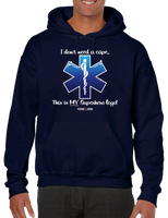 I Don't Need A Cape Superhero EMT EMS Star Of Life Hoodie Hooded Sweatshirt - Vovo Inc