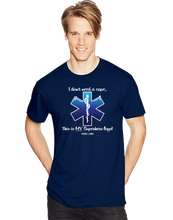 I Don't Need A Cape Superhero EMT EMS Star Of Life Short Sleeve T-Shirt - Vovo Inc