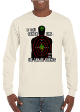 If You Can Do This We Can Be Friends Marksman Target Long Sleeve T-Shirt - Vovo Inc