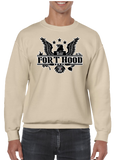 Ft. Fort Hood Texas Crew Neck Sweatshirt - Vovo Inc