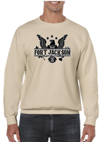 Ft. Fort Jackson Crew Neck Sweatshirt - Vovo Inc