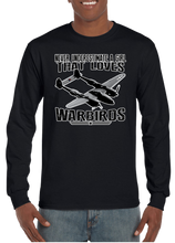 Never Underestimate A Girl That Loves Warbirds Long Sleeve T-Shirt - Vovo Inc