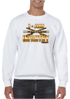 I Am Infantry Crew Neck Sweatshirt - Vovo Inc