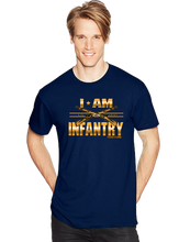 I Am Infantry Short Sleeve T-Shirt - Vovo Inc