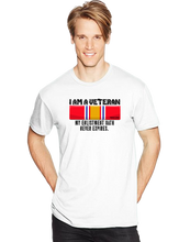 I Am A Veteran My Oath Never Expires National Defense Short Sleeve T-Shirt - Vovo Inc