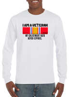 I Am A Veteran My Oath Never Expires National Defense Long Sleeve T-Shirt - Vovo Inc