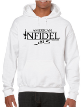 USA Military American Infidel & Arabic Hoodie Hooded Pullover Sweatshirt - Vovo Inc