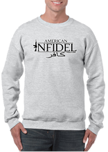 USA Military American Infidel in Arabic Crew Neck Sweatshirt - Vovo Inc