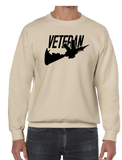 Just Veteran Version 2 Crew Neck Sweatshirt - Vovo Inc