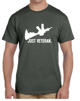 Just Veteran Short Sleeve T-Shirt - Vovo Inc