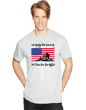 We Stand For The Flag We Kneel For The Fallen Short Sleeve T-Shirt - Vovo Inc