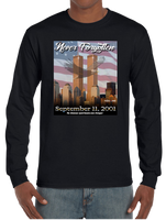 9/11 Never Forgotten Long Sleeve T-Shirt Sweatshirt - Vovo Inc
