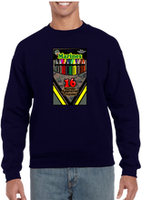 16 Marine Approved Crayons Crew Neck Sweatshirt - Vovo Inc