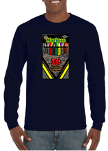 16 Marine Approved Crayons Long Sleeve T-Shirt - Vovo Inc