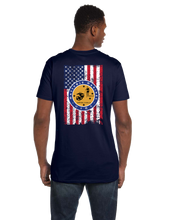 MU Masshole Marines Flag Short Sleeve T-Shirt - Vovo Inc