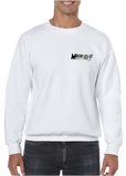 Masshole Marines V2 Front Left Chest Crewneck Pullover Sweatshirt - Vovo Inc