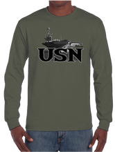 U.S. USN Navy Pride Honor Courage Bravery Served Long Sleeve T-Shirt