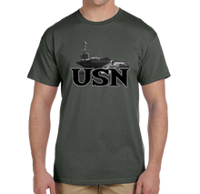 U.S. USN Navy Pride Honor Courage Bravery Served Short Sleeve T-Shirt