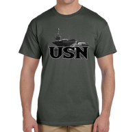 U.S. USN Navy Pride Honor Courage Bravery Served Short Sleeve T-Shirt - Vovo Inc
