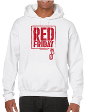 Red Friday Dog Tag Hoodie Hooded Pullover Sweatshirt - Vovo Inc