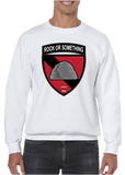 Rock or Something Military Unit Crew Neck Sweatshirt - Vovo Inc