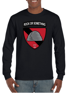 Rock or Something Military Unit Long Sleeve T-Shirt - Vovo Inc