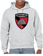 Rock or Something Military Unit Pullover Hoodie Hooded Sweatshirt - Vovo Inc