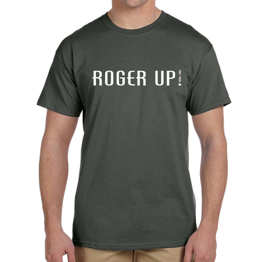 Roger Up! Military Term Short Sleeve T-Shirt - Vovo Inc