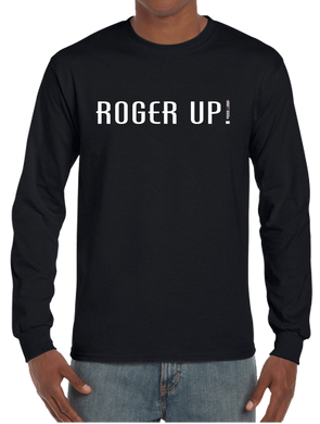 Roger Up! Military Term Long Sleeve T-Shirt - Vovo Inc