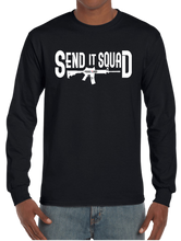 Send It Squad Rifle US Sniper Infantry Style Long Sleeve T-Shirt - Vovo Inc