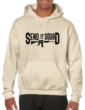 Send It Squad Rifle US Sniper Infantry Style Pullover Hoodie Hooded Sweatshirt - Vovo Inc