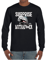 Surprise Muthafu#ker A-10 Saves The Day Warthog Long Sleeve T-Shirt - Vovo Inc