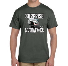 Surprise Mutha..... A-10 Saves The Day Warthog Short Sleeve T-Shirt - Vovo Inc