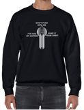 Gun Weapon Trained Military Selector Switch Crew Neck Sweatshirt - Vovo Inc