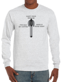 Gun Weapon Trained Military Selector Switch Long Sleeve T-Shirt - Vovo Inc