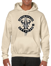 United States Military Veteran Pride USA Hoodie Hooded Pullover Sweatshirt - Vovo Inc