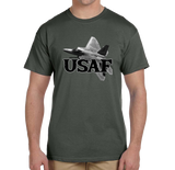 U.S. USAF Air Force Pride Honor Courage Bravery Served Short Sleeve T-Shirt - Vovo Inc