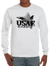 U.S. USAF Air Force VETERAN Pride Honor Courage Bravery Served Long Sleeve T-Shirt